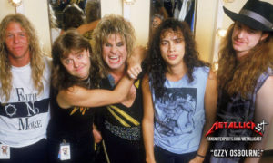 Metallica and Ozzy