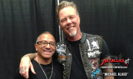 James Hetfield and Michael Alago