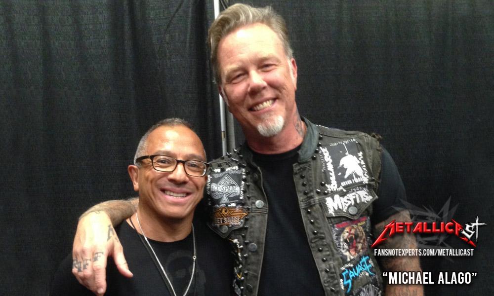 James Hetfield and Michael Alago