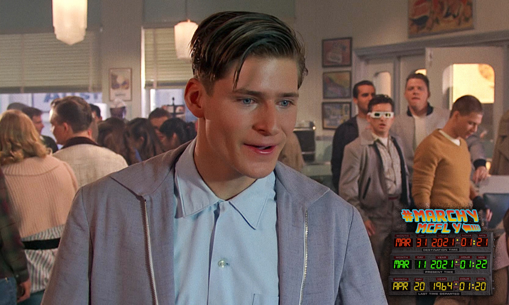 I'm George. George McFly.