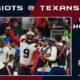 Patriots 25 - Texans 22